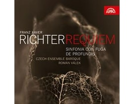 František Xaver Richter - Requiem / Czech Ensemble Baroque (dirigent Roman V, CD