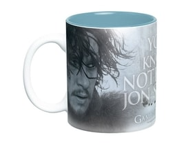 HRNEK VELKÝ GAME OF THRONES460 ml/YOU KNOW NOTHING/BÍLÝ