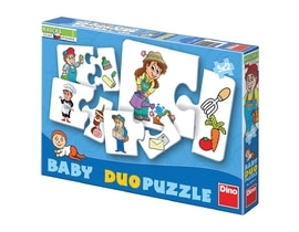 Dino PROFESE 9x2 baby duo Puzzle