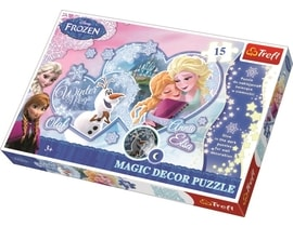 Trefl Magic Decor Fosforové puzzle Frozen