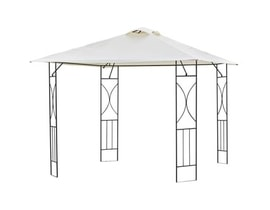 HAPPY GREEN Pavilon KENTUCKY 3 x 3 m, beige