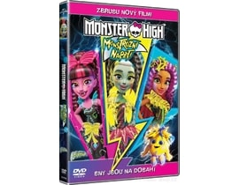 Monster High: Monstrózní napětí, DVD