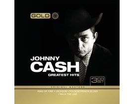Johnny Cash - Gold - Greatest Hits, 3CD