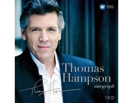 Tomas Hampson - Autograph (60th Birthday), 12 CD