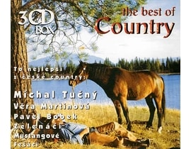 Různí - The Best Of Country / To nej z české country, 3 CD