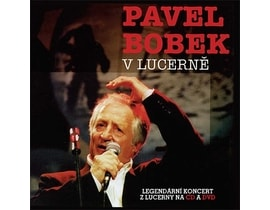 Pavel Bobek - V Lucerně, CD+DVD