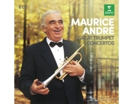 Maurice Andre - Great Trumpet Concertos, 6CD