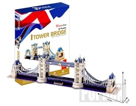 Puzzle 3D Tower Bridge - 120 dílků
