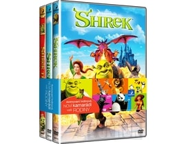 Shrek 1-3, 3DVD