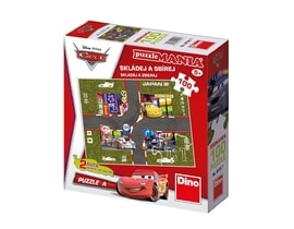 Dino CARS A 100 puzzlemania Puzzle