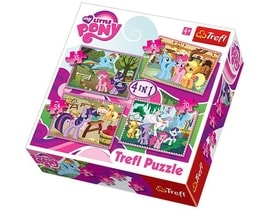 TREFL Puzzle My Little Pony 4v1 (35,48,54,70 dílků)