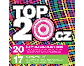 Ruzni/pop National  Top20.cz 2017/1, CD