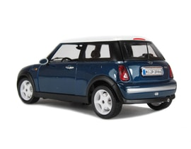 Bburago Mini Cooper 2001 1:18 Gold