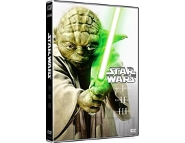 Star Wars 1-3, 3 DVD