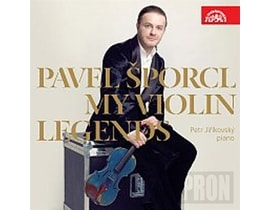 Pavel Šporcl - My Violin Legends, CD