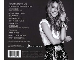 Céline Dion - Loved Me Back to Life, CD