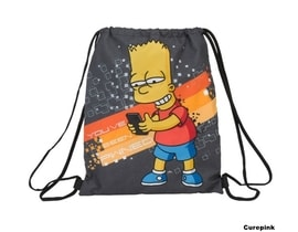 Batoh pytlík gym bag The Simpsons/Simpsnovi Bart
