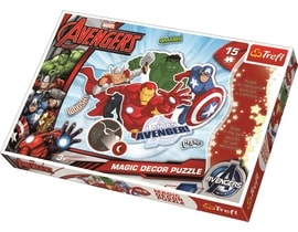 Trefl Magic Decor Fosforové puzzle Avangers