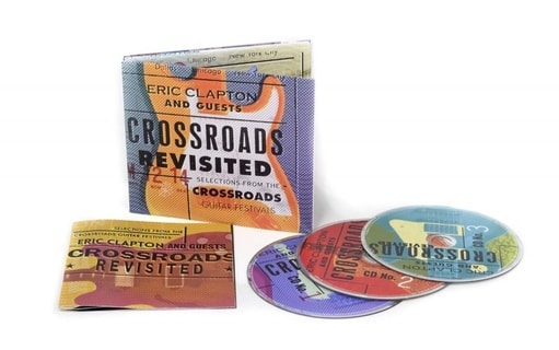 Clapton, Eric - Crossroads Revisited - Selections From The Crossroads Guitar Festivals, 3CD