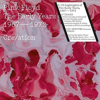 Pink Floyd - The Early Years - Cre/ation, 2CD