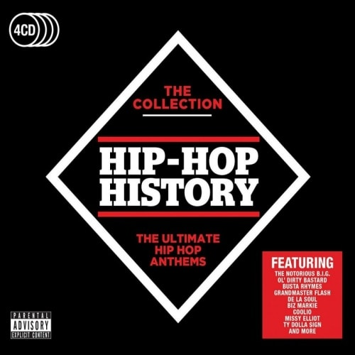 Various Artists  Hip-hop History The Collection, CD