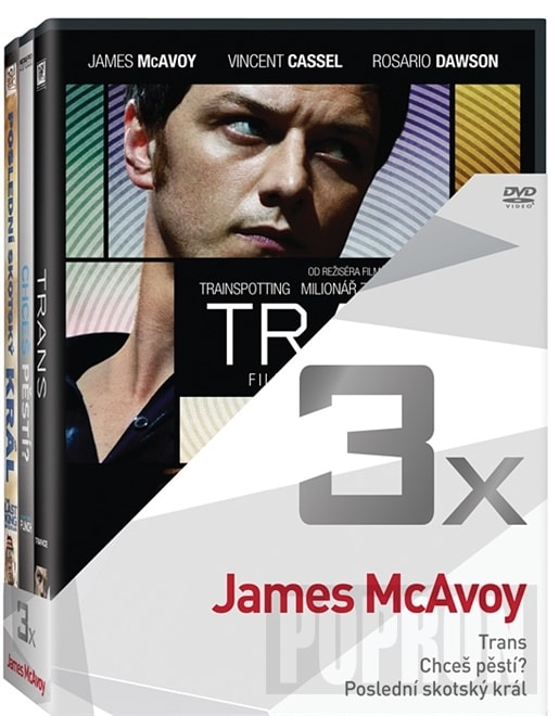 3x James McAvoy, DVD