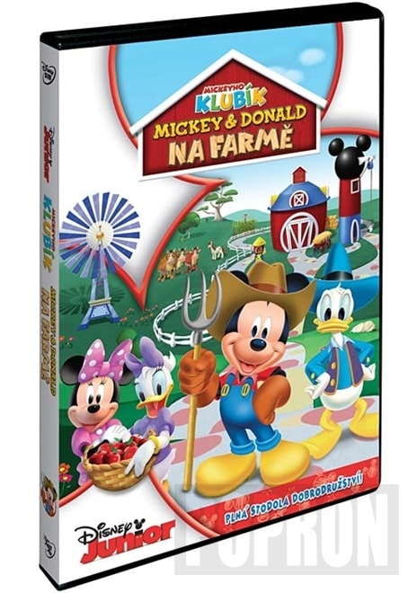 Disney Junior: Mickey a Donald na farmě, DVD