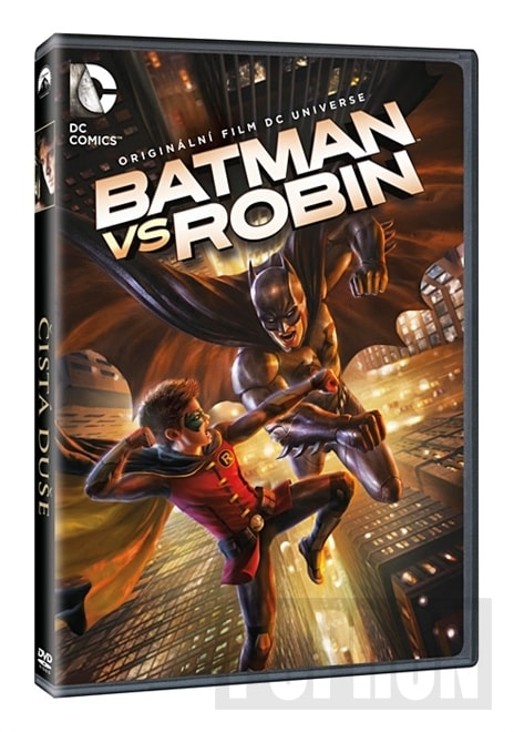 Batman vs Robin, DVD