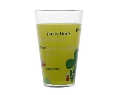 BANQUET Sada sklenic PARTY TIME long drink 300 ml, 3 ks
