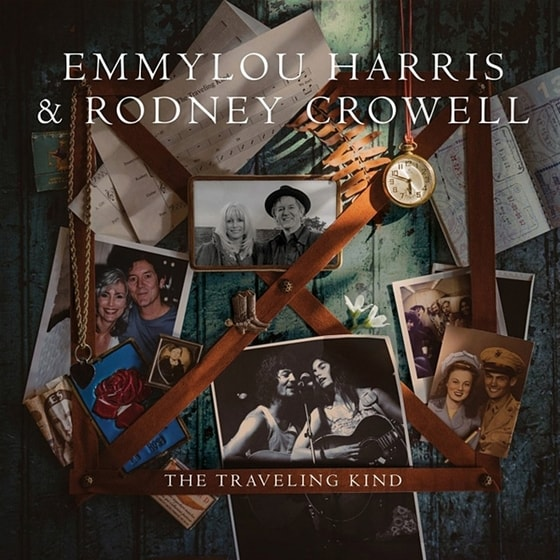 Emmylou Harris & Rodney Crowell - The Traveling Kind, CD