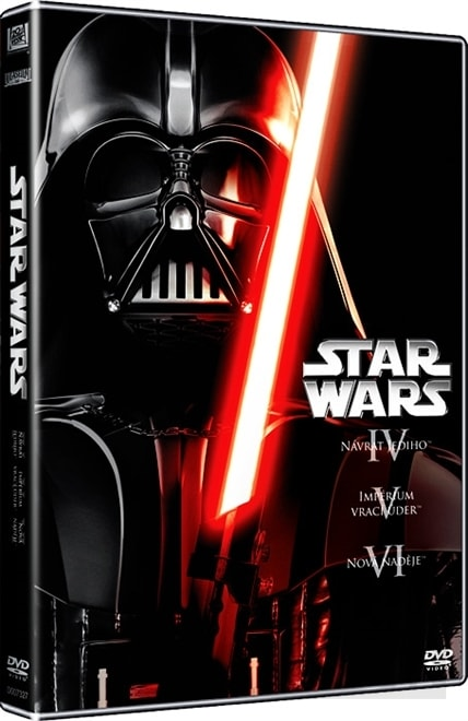 Star Wars 4-6, 3DVD