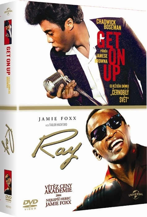 2 DVD Get on Up - Příběh Jamese Browna / Ray, DVD