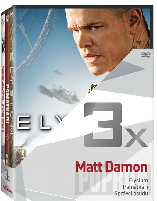 3x Matt Damon, DVD