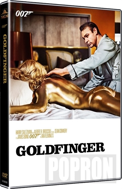 James Bond - Goldfinger (2015), DVD