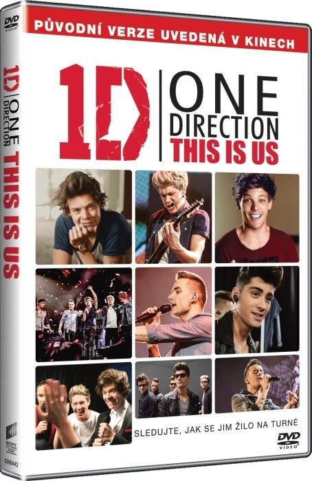 One Direction: This Is Us, DVD