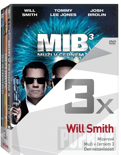 3x Will Smith, DVD
