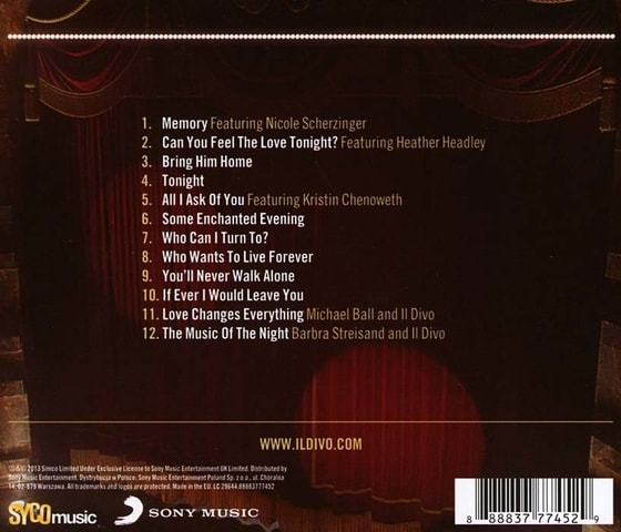 Il Divo - A Musical Affair, CD