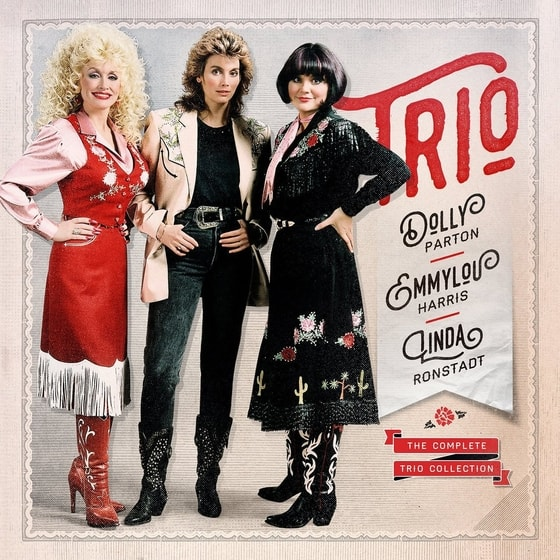 Dolly Parton/Linda Ronstadt/Emmylou Harris-The Complete Trio Collection,3CD