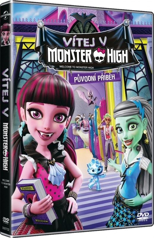 Vítej v Monster High, DVD