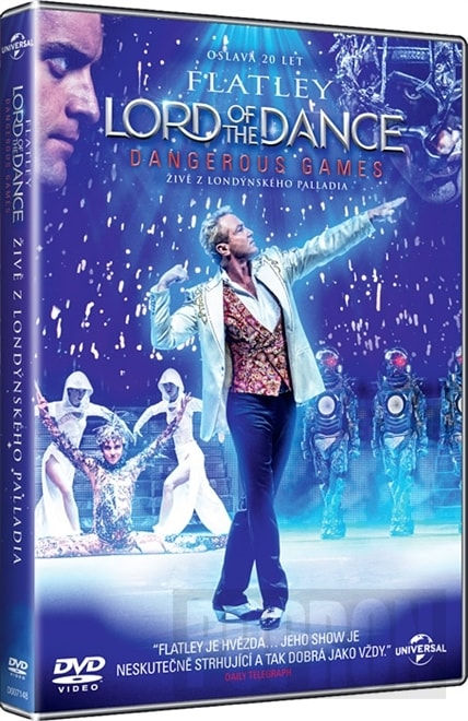 Lord of the Dance: Dangerous Games, DVD