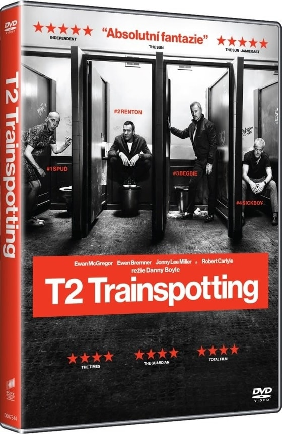 T2 Trainspotting, DVD