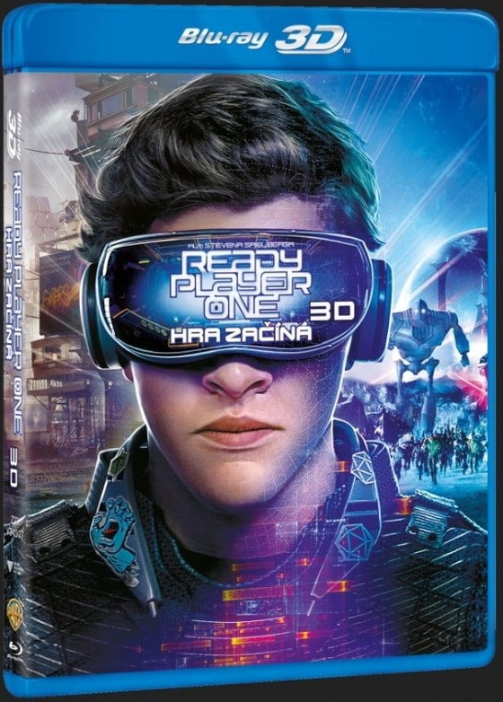 Ready Player One: Hra začíná (2Blu-ray 3D+2D)