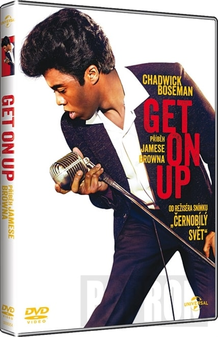 Get on Up - Příběh Jamese Browna, DVD