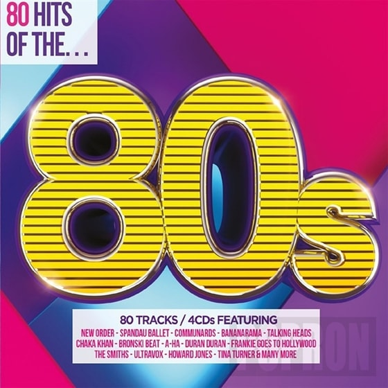 Various - 80 HITS of THE 80´s, CD
