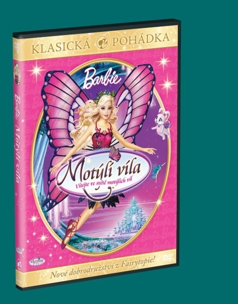 Barbie Motýlí víla, DVD