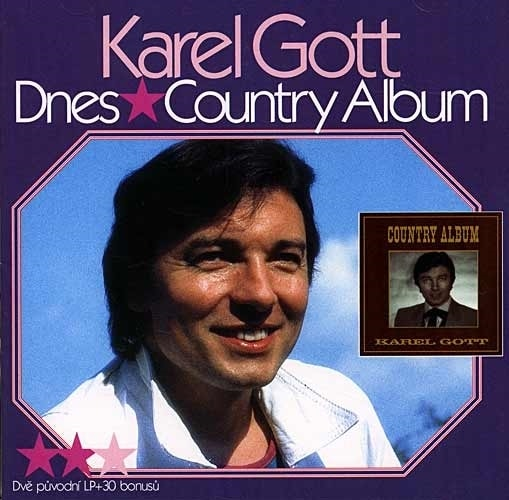 Karel Gott - Dnes / Country album, CD