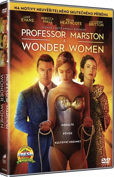 Professor Marston & The Wonder Women, DVD