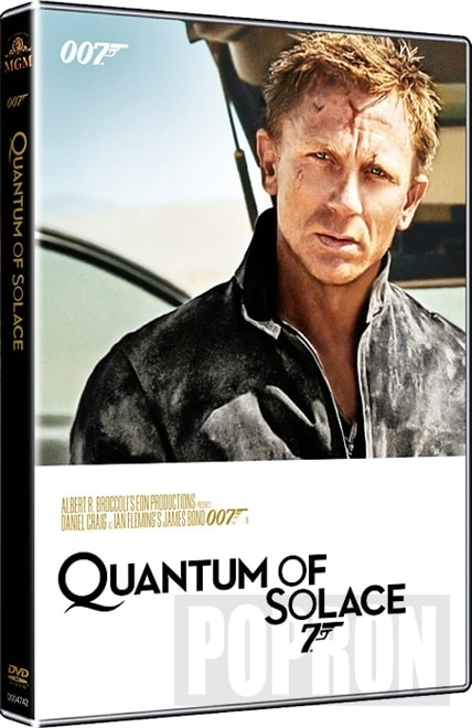 James Bond - Quantum of Solace (2015), DVD