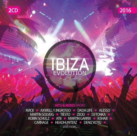 Různí - Ibiza Evolution 2016, 2 CD