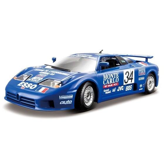 RC Bugatti EB 110 Supersport (Race 1994) 1:24 Race